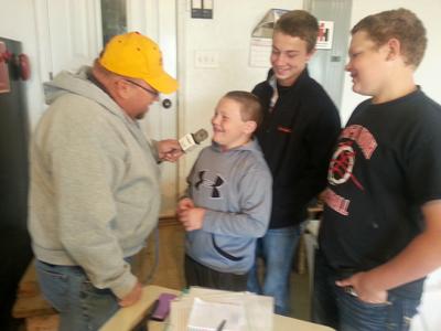 VonGlan sons Tyson, Ben & Cody tell their stories to Duane Murley.