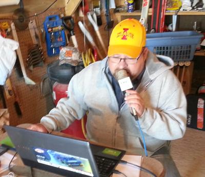 Broadcast Central with Duane Murley On the farm of Week 5 Winner Arvid Evans of Bridgewater (Adair County), Iowa.