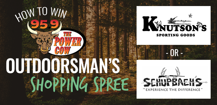 Win an Outdoorsman's Shopping Spree