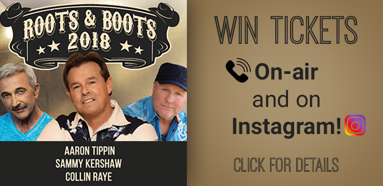 Roots & Boots Tour GIVEAWAY