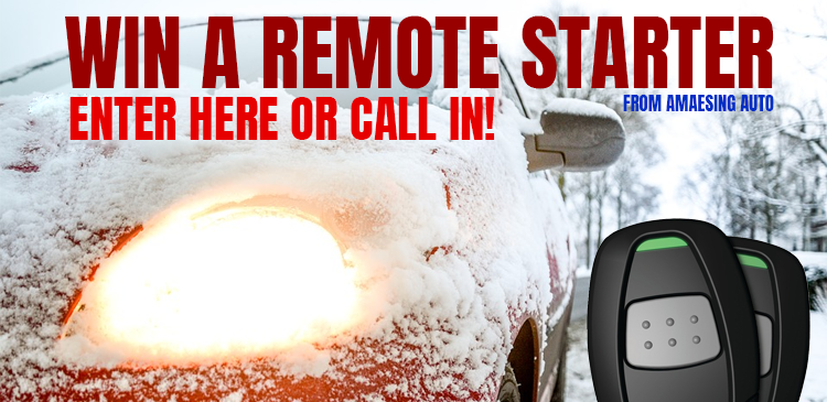Win a Remote Starter from Amaesing Auto!