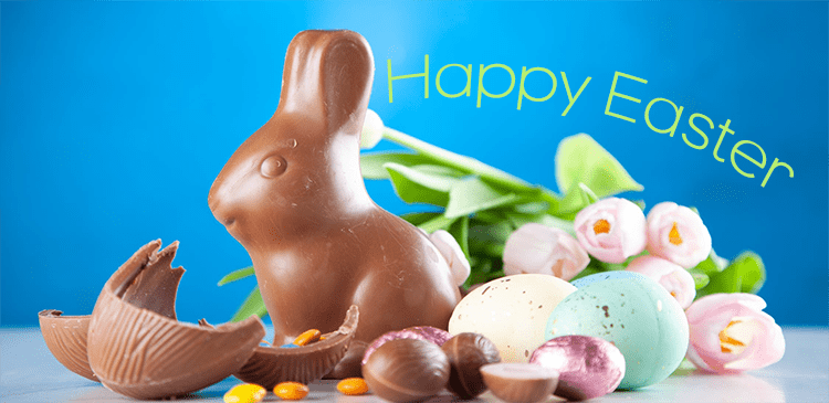 Happy Easter from 95.9 The Power Cow