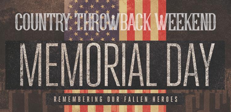Throwback Memorial Weekend