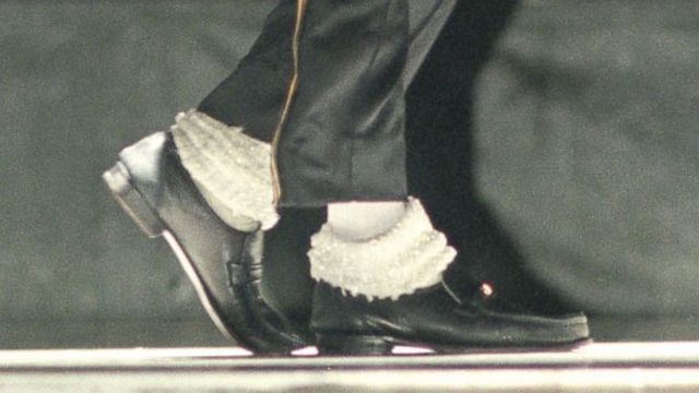 650a78036a1 Michael Jackson s moonwalk shoes up for auction
