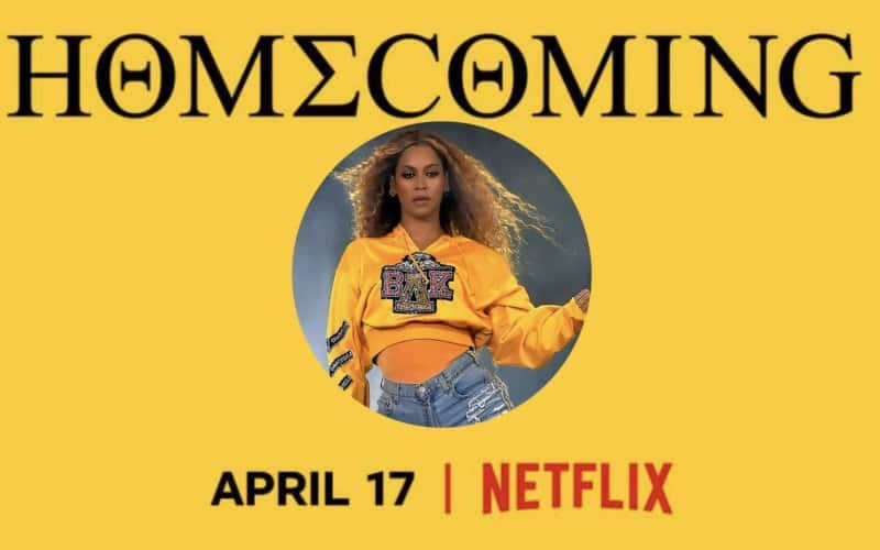 Beyonce Homecoming Font
