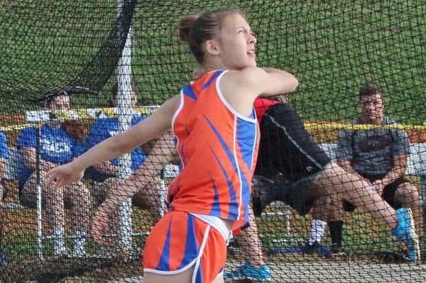 Marshall Middle School Track Team Earns 38 All Area 1 Team