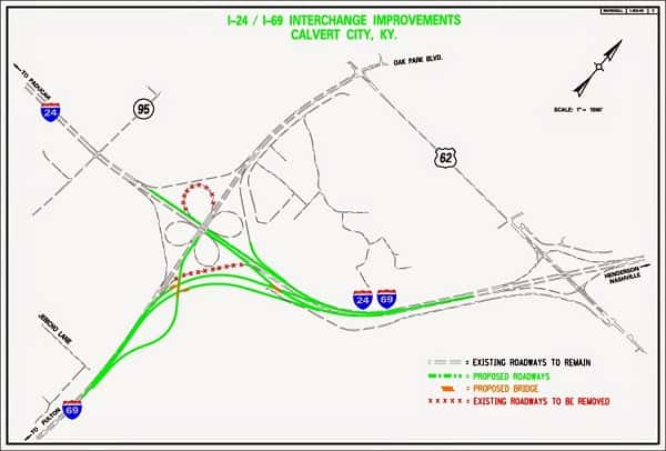 I-69 Interchange Upgrades at Interstate 24/Purchase Pkwy Interchange on md interstate map, tx interstate map, fl interstate map, indiana interstate map, mi interstate map, louisville interstate map, interstate highway map, kentucky official highway map, az interstate map, va interstate map, sc interstate map, ky road maps driving directions, nc interstate map, ga interstate map, ohio interstate map, co interstate map, il interstate map, ny state interstate map, tn interstate map, se interstate map,