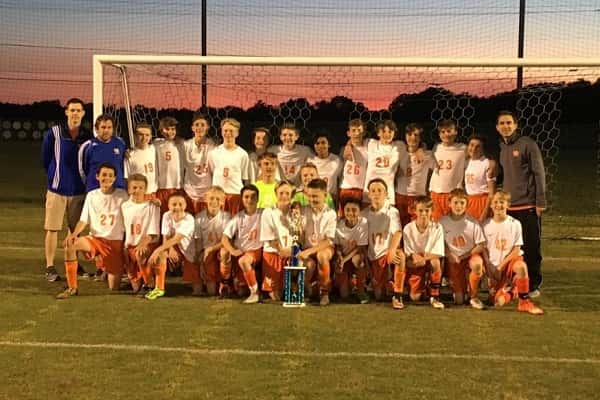 Middle school soccer teams win District Championship, take