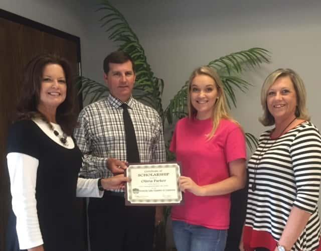 Olivia Parker Selected for Chamber's Scholarship Award | Marshall
