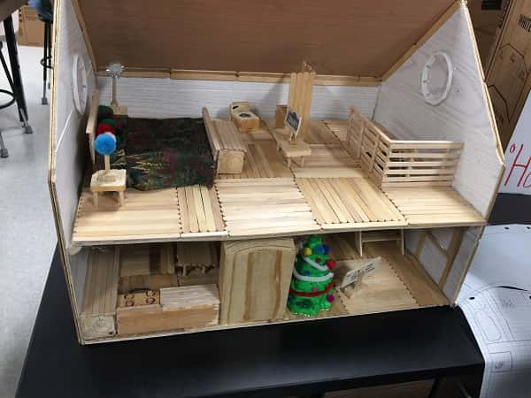 Surprising South Middle Students Use Math Concepts To Build Tiny House Download Free Architecture Designs Rallybritishbridgeorg