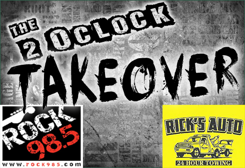 The 2 O'Clock Takeover Every Weekday! | WMYK