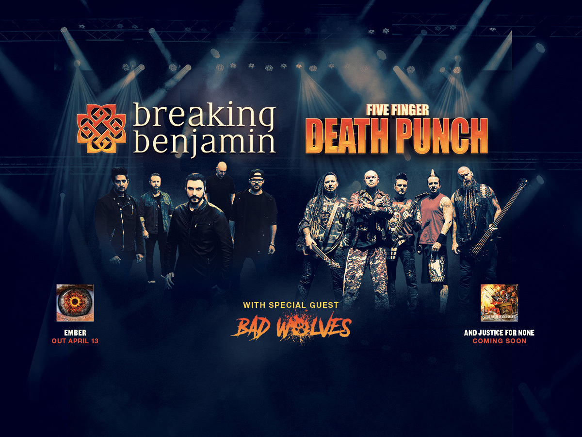 Breaking Benjamin and Five Finger Death Punch with special