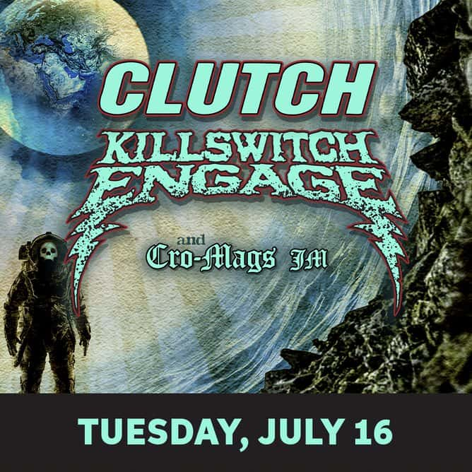 Clutch and Killswitch Engage | WMYK
