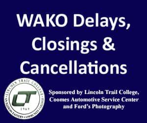 WAKO Delays, Closings and Cancellations   103 Lite Hits - WAKO-FM