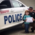 Jordan Feutz: My daughter absolutely loves her daddy! He is her role model! She wants to spread awareness of having people move over for emergency vehicles so her HERO can come back home to her safe and sound!