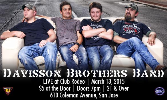 Davisson Brothers Band Club Rodeo 953 Krty