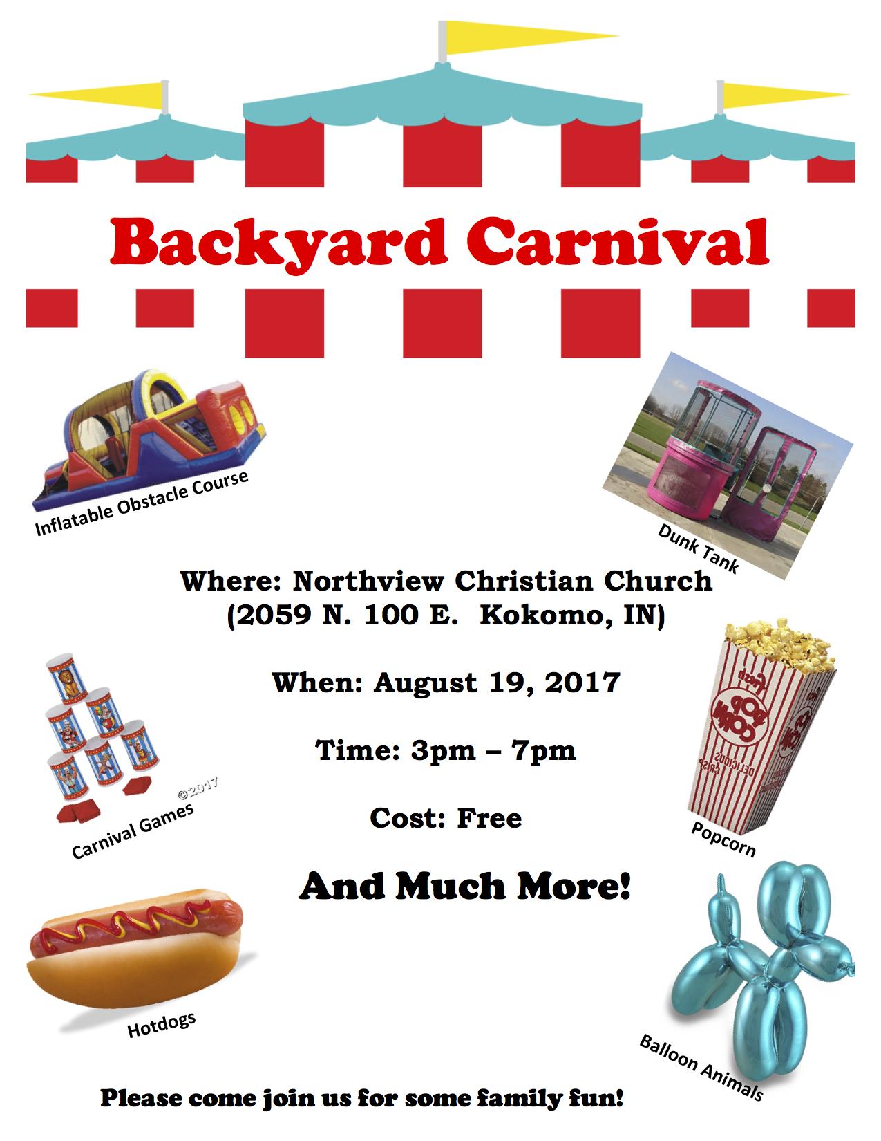 Backyard Carnival backyard carnival   z 92.5