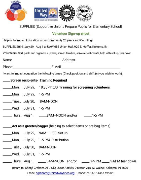 Free School Supplies   Z 92 5