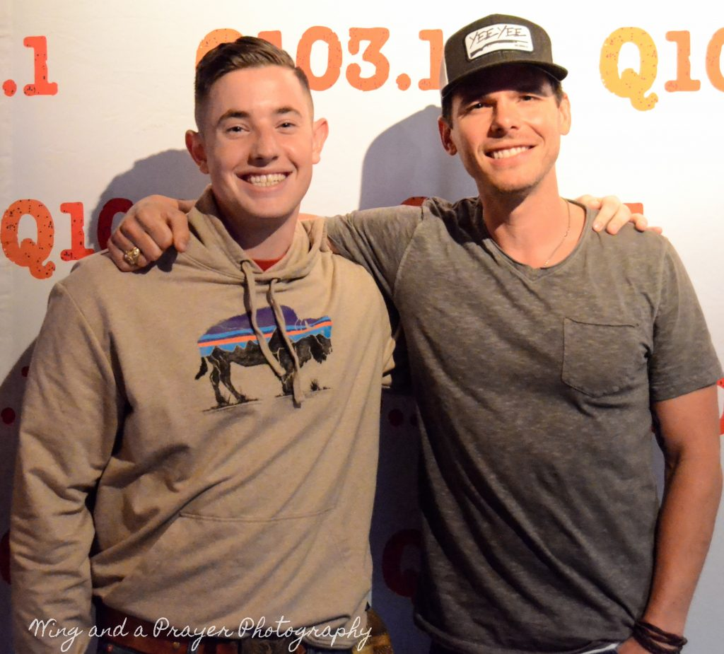 Granger smith and trent tomlinson meet and greet photos wqnu q1031 granger smith and trent tomlinson meet and greet photos m4hsunfo