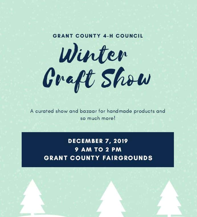 Christmas Craft Show Flyer.Christmas Craft Collectibles Sale To Benefit 4 H Coming Up