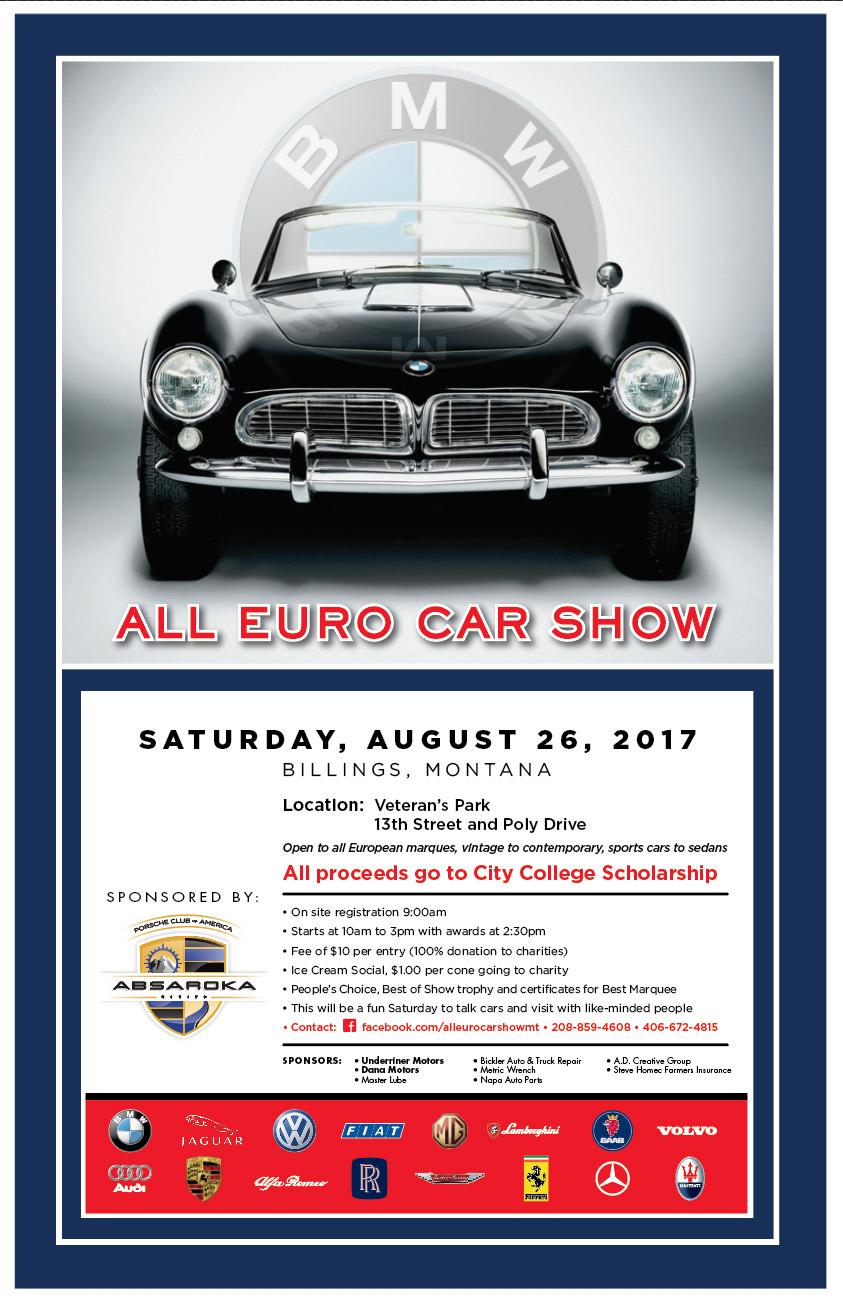 All Euro Car Show KGHL - Unique car show awards
