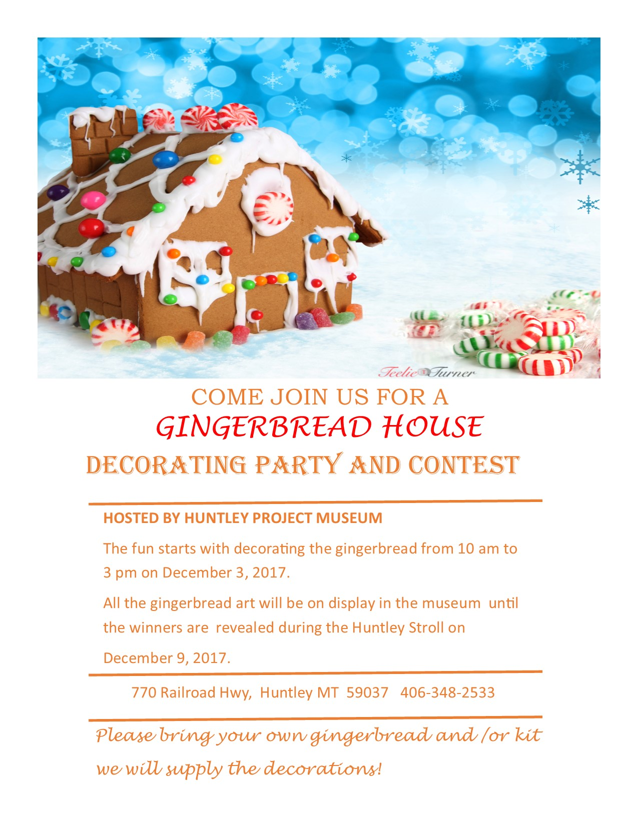 Gingerbread House Decorating Party And Contest Kghl 790am 947fm