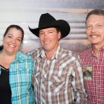 Traci and Jeff Taylor with Clay Walker