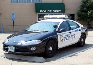 Marion Police Car