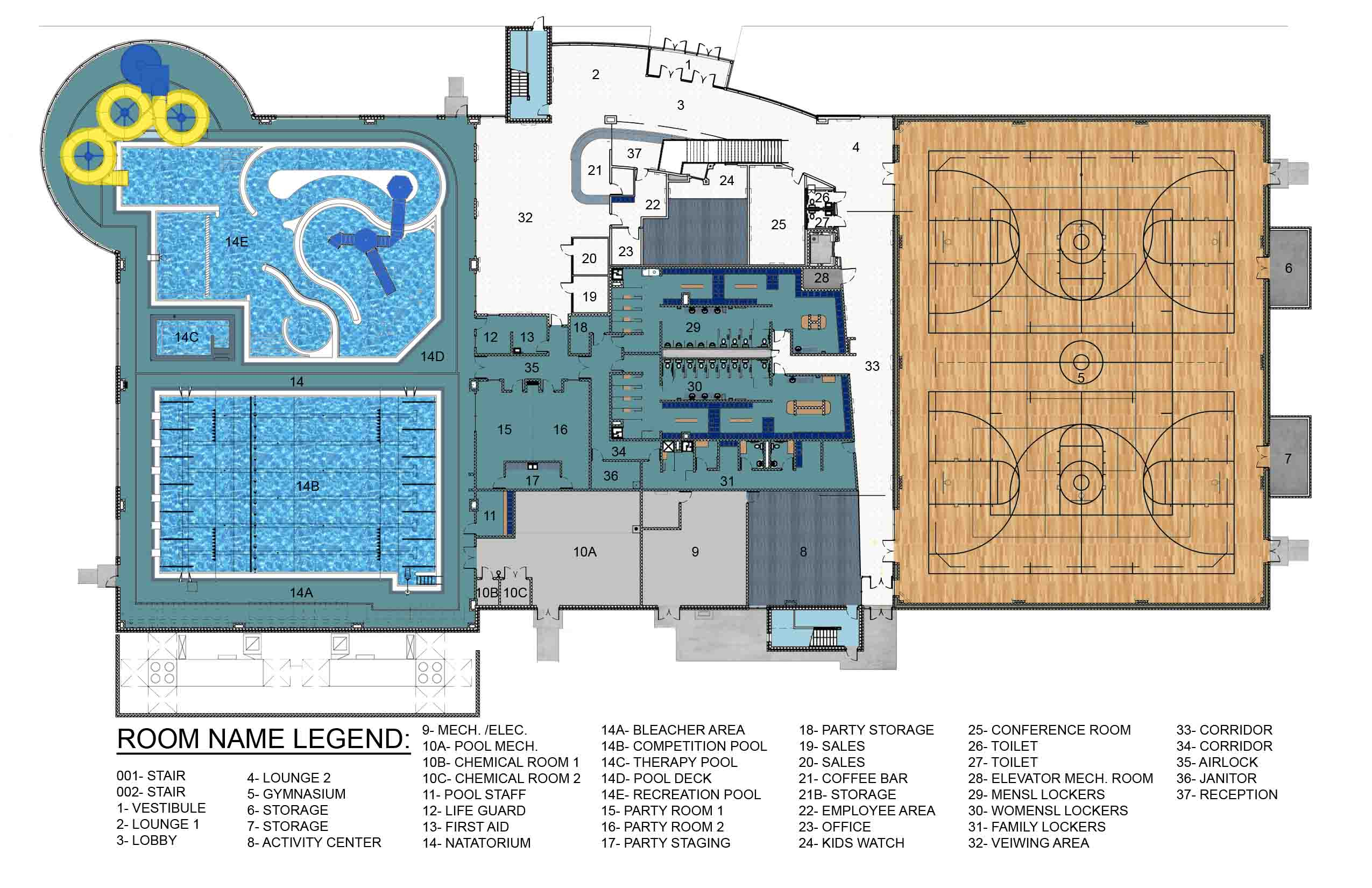 Blueprints For New Homes Hub Rec Center Opening Delayed Wjpf News Radio