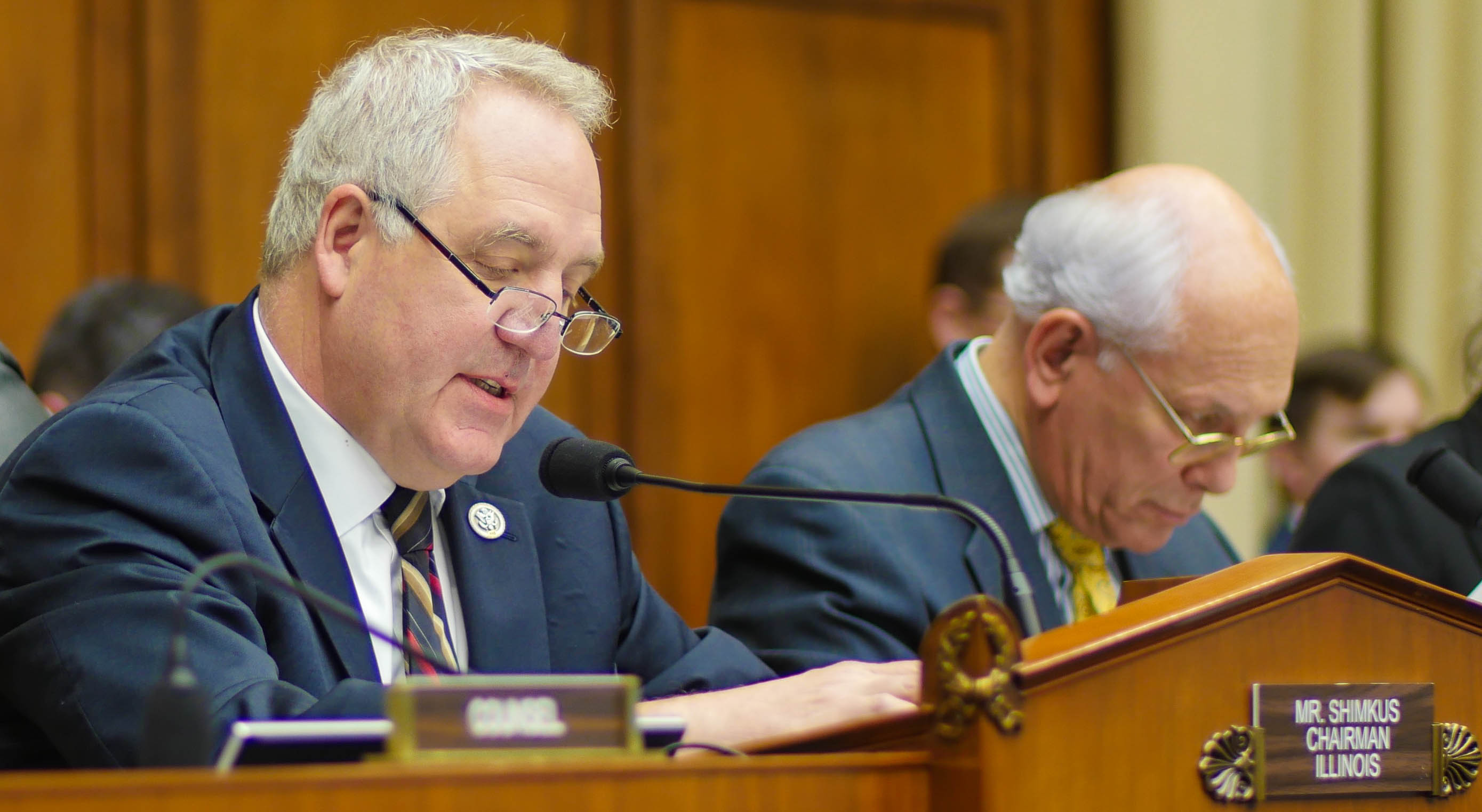 John Shimkus Courtesy of the House Committee on Energy and Commerce