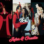 20191021_062640: Disney Villains Jafar and Cruella de Vil