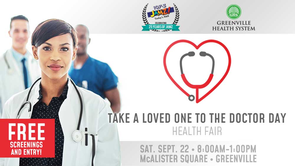 Take a Loved One To The Doctor Day: a Health Fair