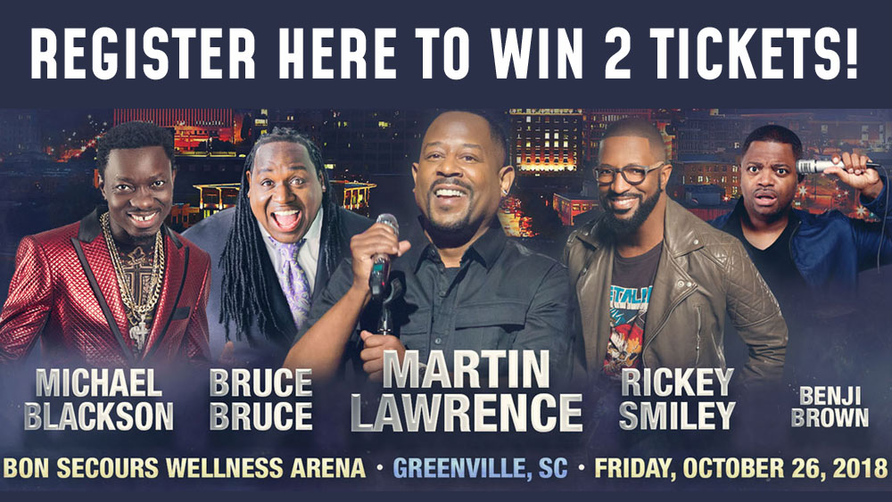 Win tickets to Martin Lawrence's LIT AF Tour