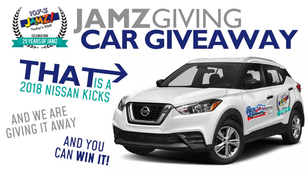 107.3 JAMZ and Quality Nissan JAMZgiving Car Giveaway!