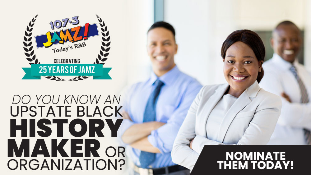 Upstate Black History Maker Nominations