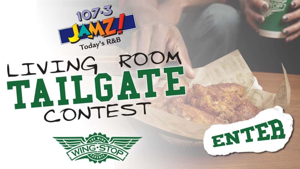 107.3 JAMZ Living Room Tailgate Contest