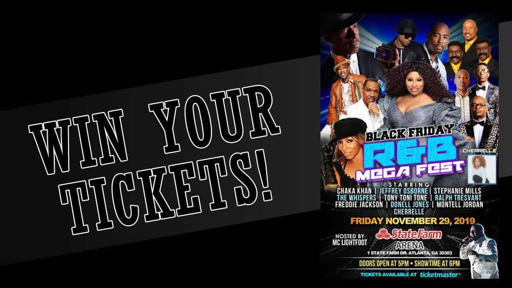 Win tickets to the Black Friday R&B MegaFest!