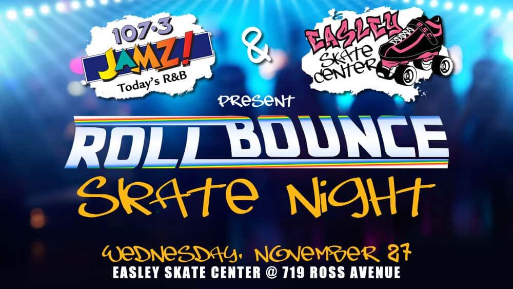 107.3 JAMZ Roll Bounce Skate Night