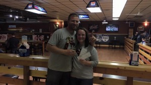 Winners John & Samantha Olivier
