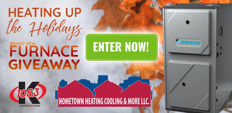 Heating Up the Holidays - Furnace Giveaway