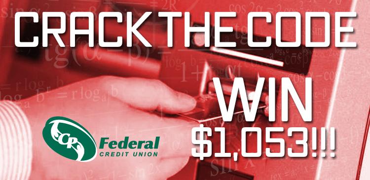 Crack the Code - Win $1,053