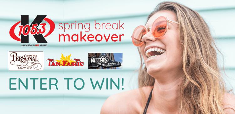 Enter to win a Spring Break Makeover!