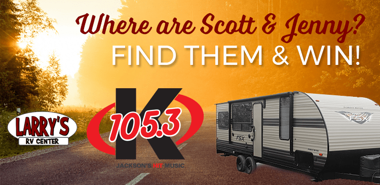 Where are Scott & Jenny? Find them and you could win!