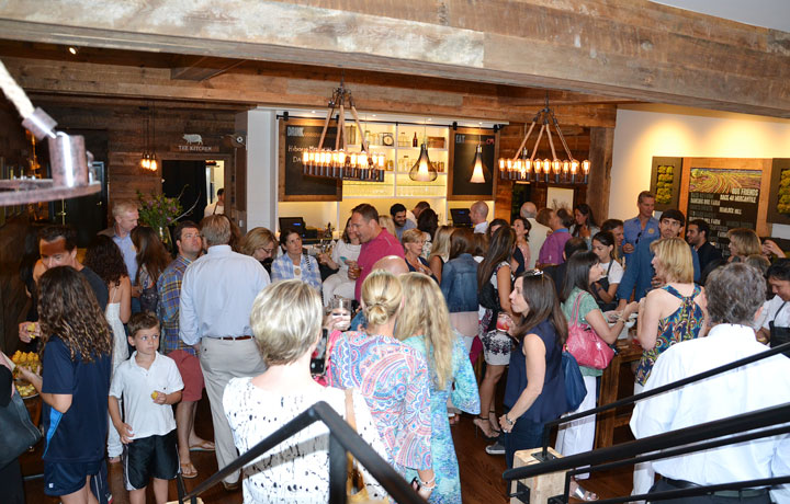 """Back 40 Kitchen held a """"Barn Raising"""" party in celebration of the opening."""