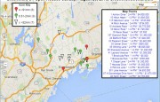 Greenwich Open Houses for 8/23/15 - Static Map