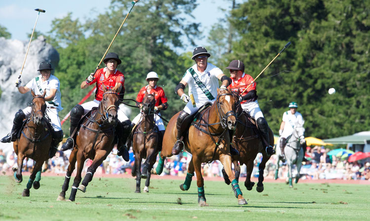 Audi USA and Greenwich-based White Birch compete for the US. Polo Association East Coast Open Championship. (John Ferris Robben photo)