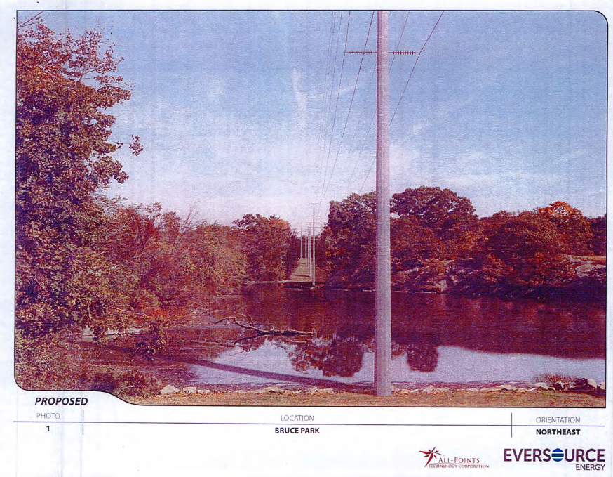 Bruce Park, the proposed location for feeding tubes connecting the substations.