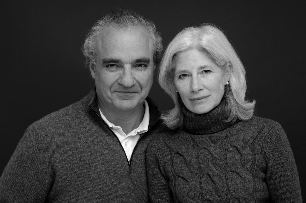 Jeff Grant with his wife Lynn Springer (Photo by David Cluett)