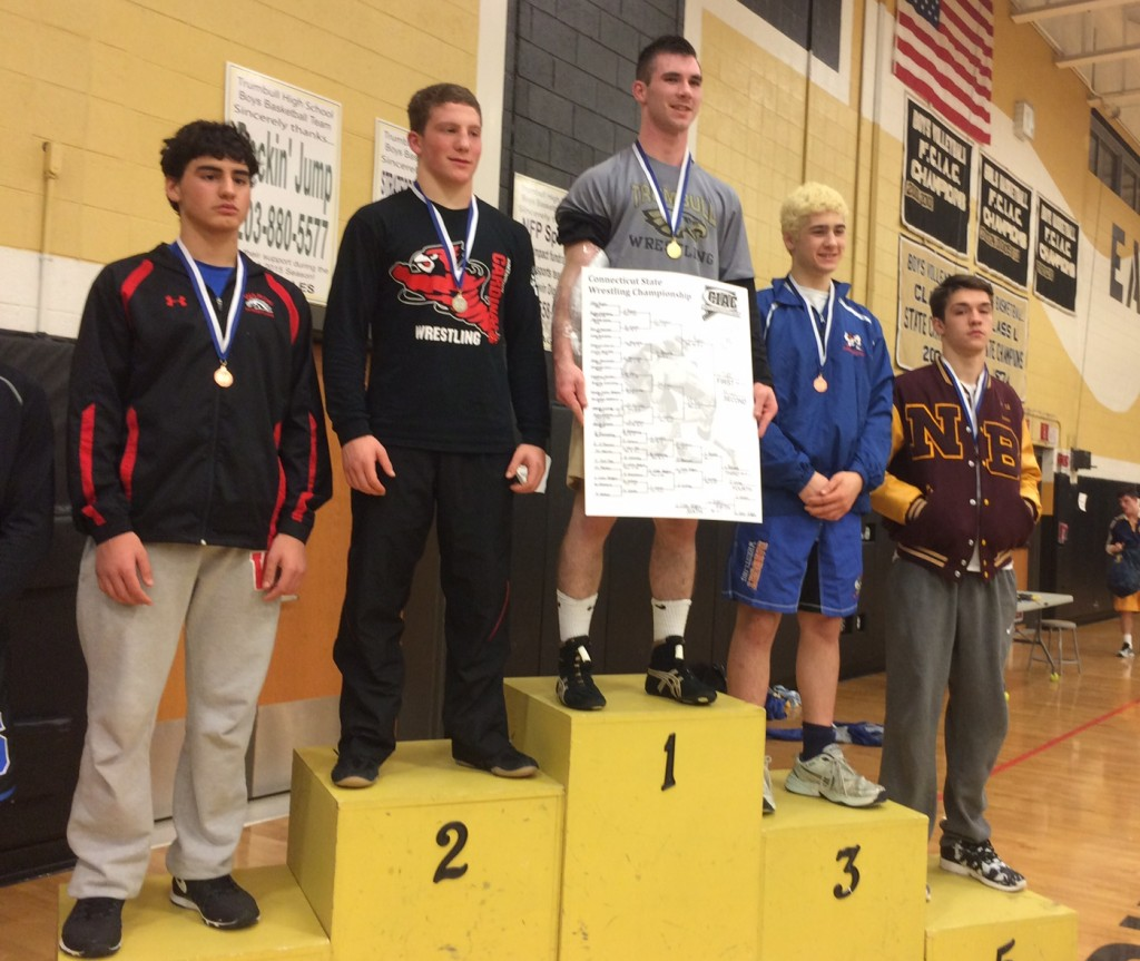 Greenwich's Mike Ceci placed second in the 160-pound weight class at Saturday's LL Championships.