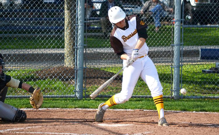 The Brunswick School baseball team got back to its winning ways Monday afternoon, crushing King School 14-2. (Paul Silverfarb photo)